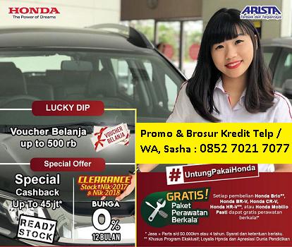 Honda Medan Dealer Harga Promo Cashback Terbaru Mobilio