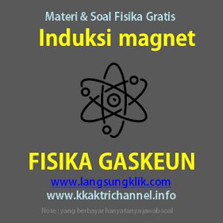 Induksi Magnet Materi Fisika SMA