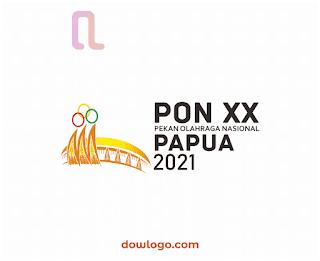 Logo PON XX Papua Tahun 2021 Vector Format CDR, PNG