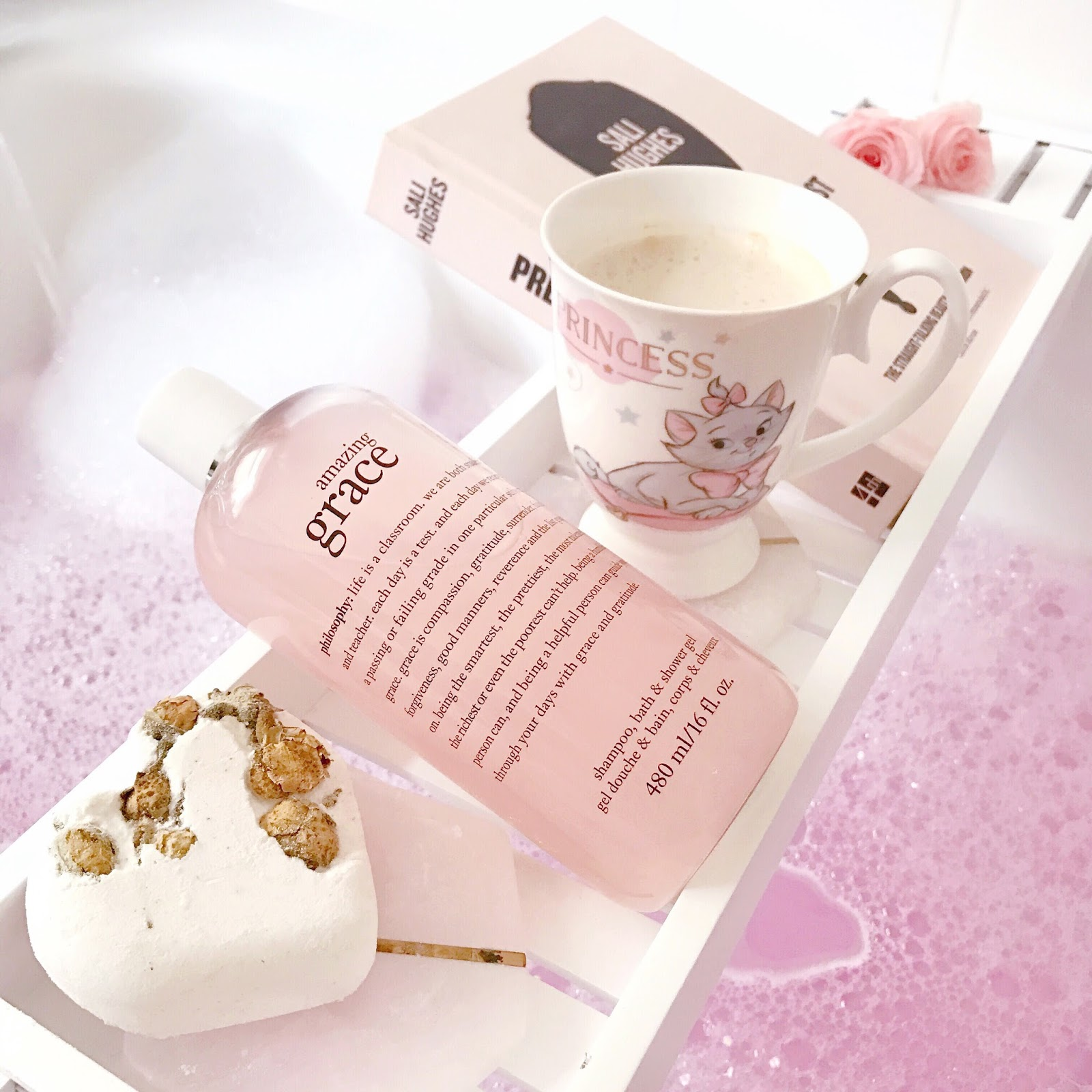 September Photo Diary | A Pink Lush Bubble Bath