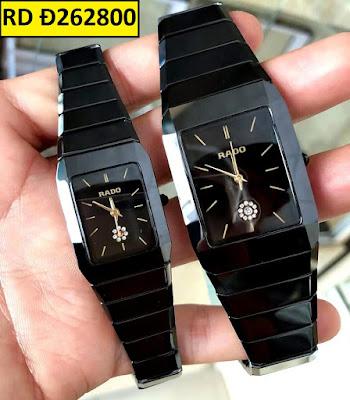 Đồng hồ đeo tay cặp đôi dây đá Rado RD Đ262800