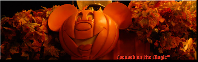 Magic Kingdom, Pumpkin Display, Fall Display, Focused on the Magic