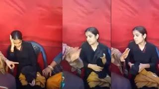 बुर्के में कैमरा छिपाकर शाहीन बाग पहुंची गैर-मुस्लिम महिला, प्रदर्शनकारियों ने पकड़ा, पूछताछ जारी