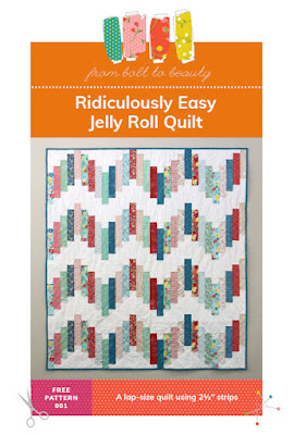 ridiculously easy jelly roll pattern