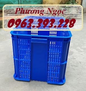 Sóng nhựa rỗng đựng nông sản, sọt nhựa đựng đồ may mặc, thùng nhựa rỗng chứa đồ công nghiệp