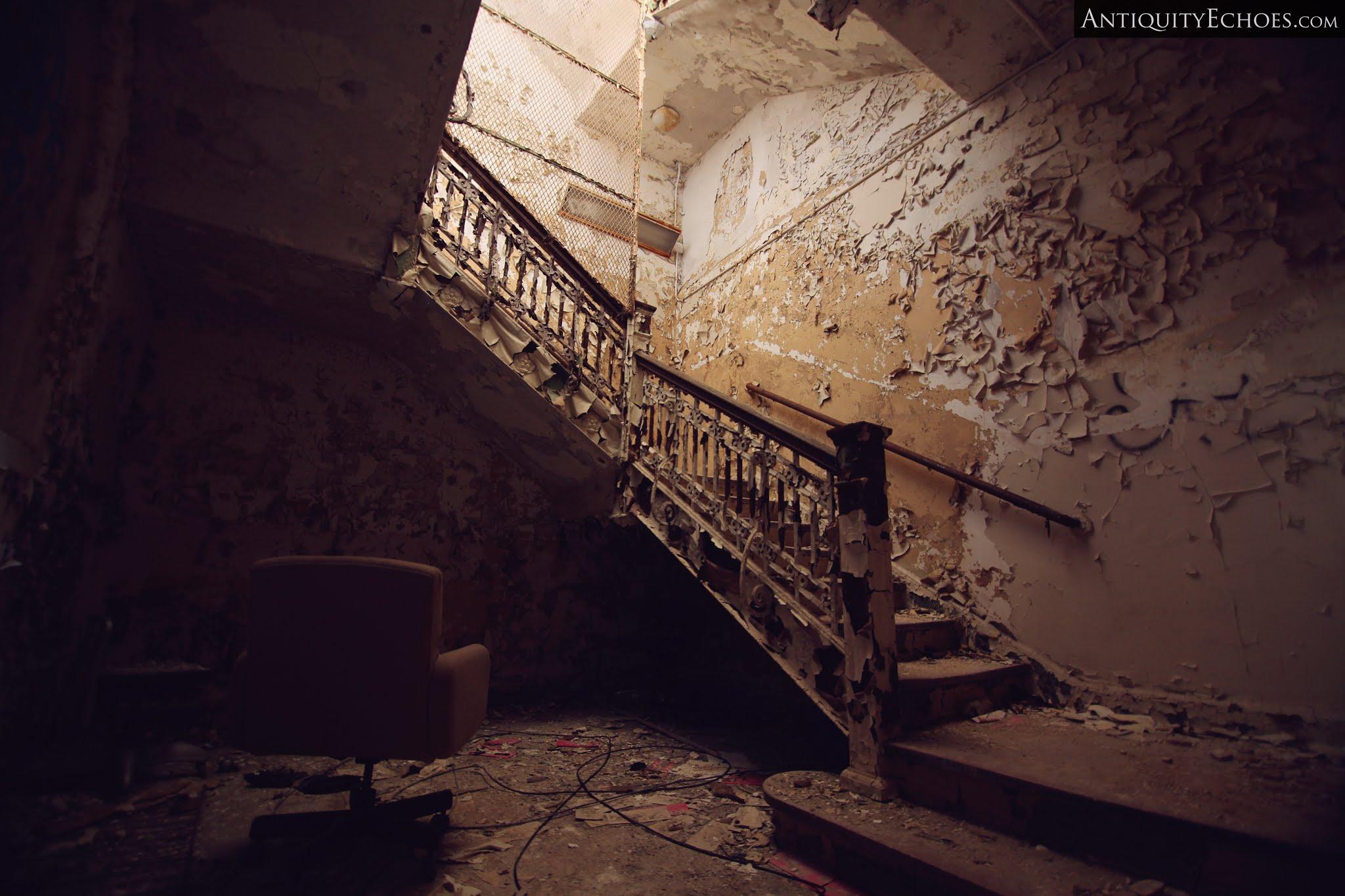 Overbrook Asylum - Master Stair