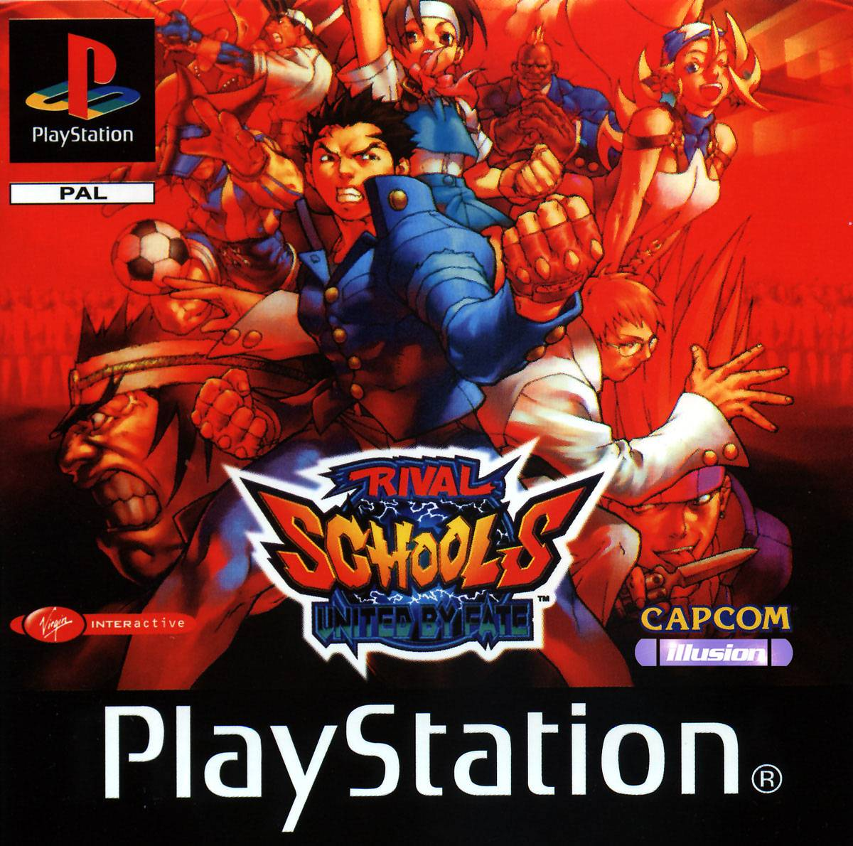 Rival Schools - United By Fate - PS1 - ISOs Download
