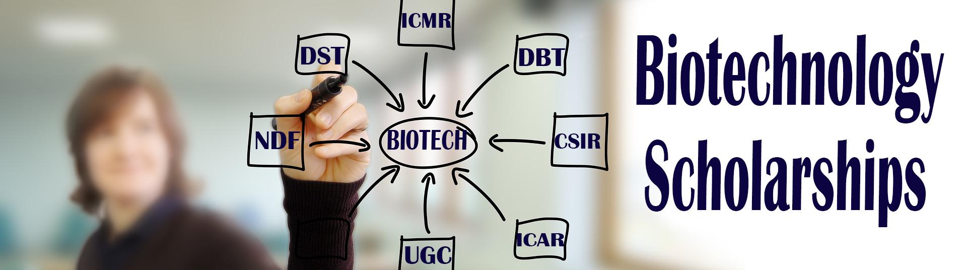 biotechnology scholarship