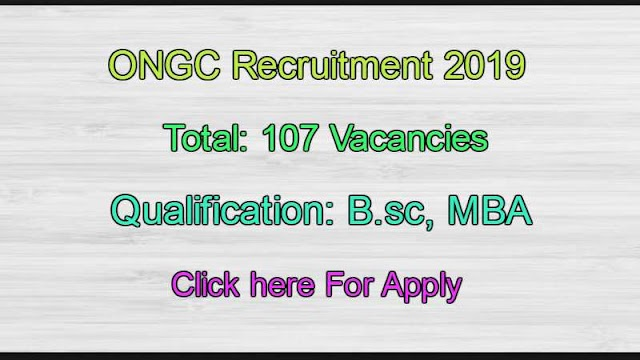 ONGC Openings For MO SO Post for Degree Students Apply now