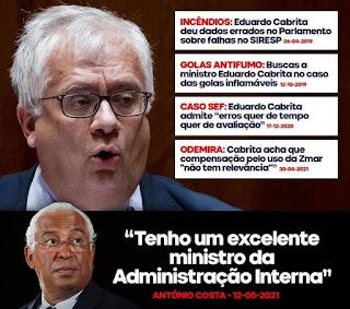 eduardo cabrita demissão protegido de costa apodrecetuga corrupção