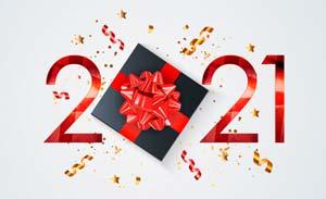 2021 año nuevo regalo