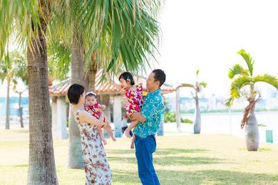 沖縄 家族フォト