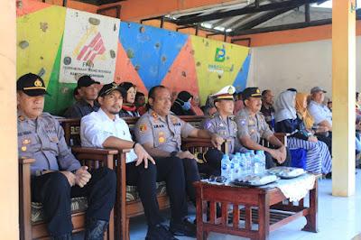 Wabup Tutup Perkemahan Diklat Poljar, PKS dan Saka Bhayangkara