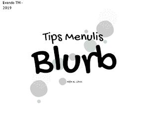 Sejarah Blurb, Fungsi dan Cara Menciptakan Blurb sebagai alat Promosi!
