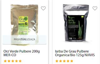 Orz de verde pulbere -cumpara de aici