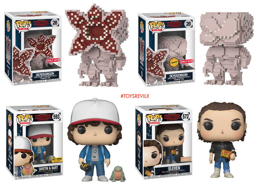 0e12b4b0221 The Evolution of Demogorgons  New  StrangerThings Toys from Funko ...