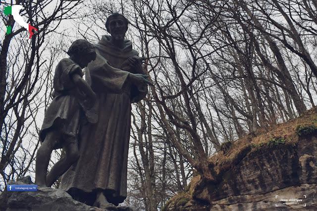 Święty Franciszek - La Verna