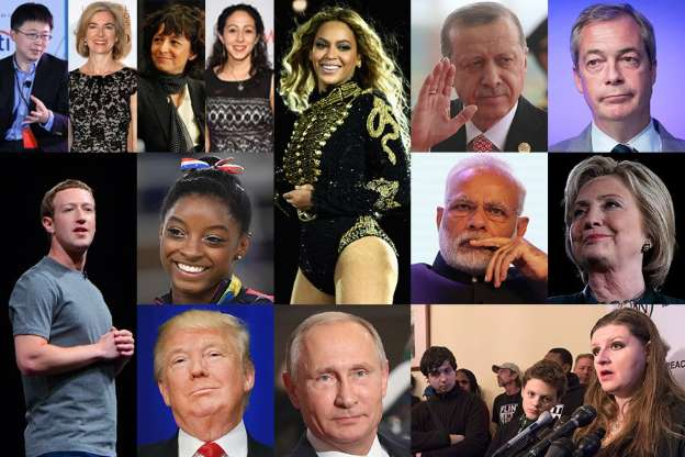 TIME Announces 2016 Person of the Year Shortlist on Today Show