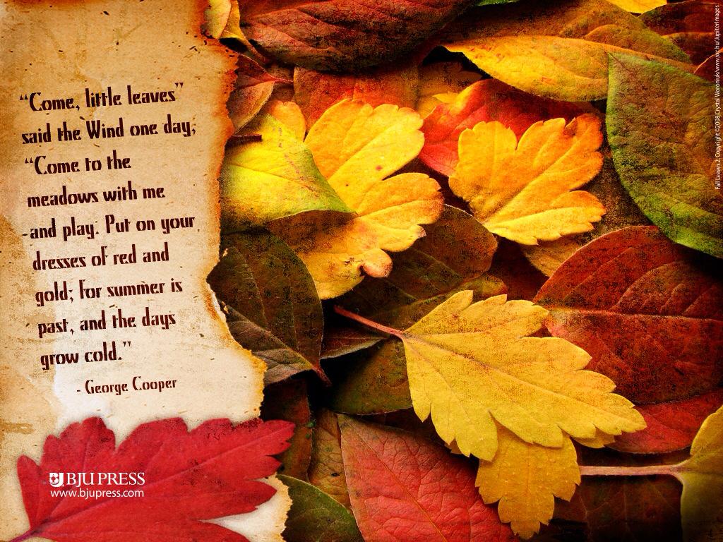 Autumn Poems For Teachers ~ Autumn Posters Picture
