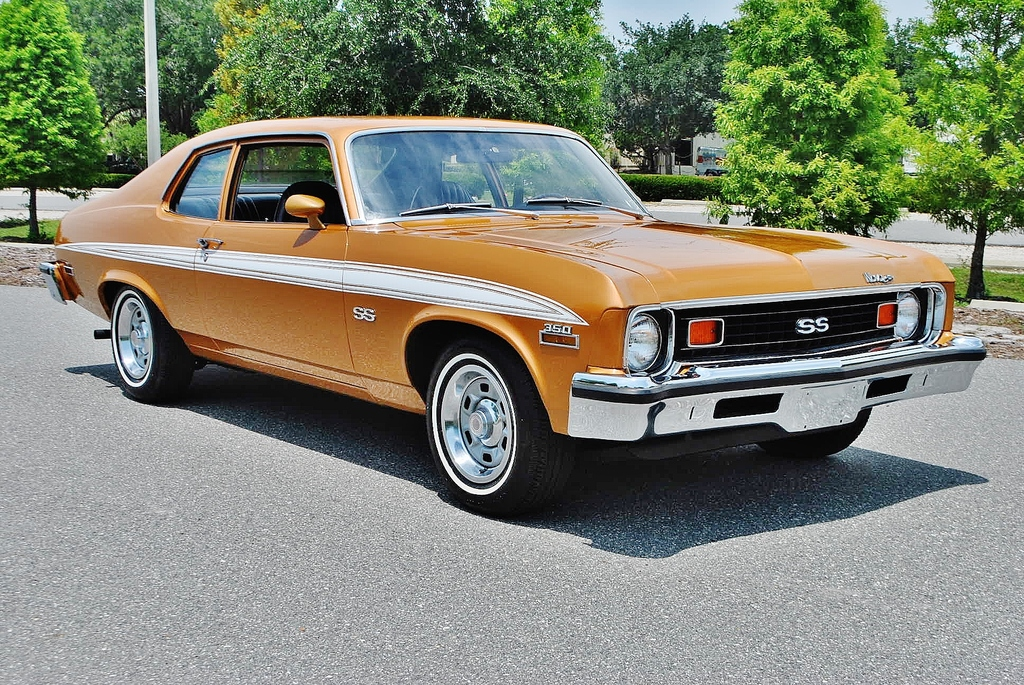 2016 Chrysler Imperial >> All American Classic Cars: 1973 Chevrolet Nova SS 2-Door Coupe