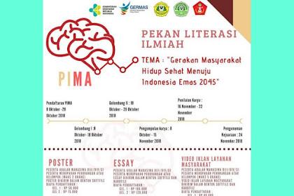 Contest Pekan Literasi Ilmiah (PIMA) 2018
