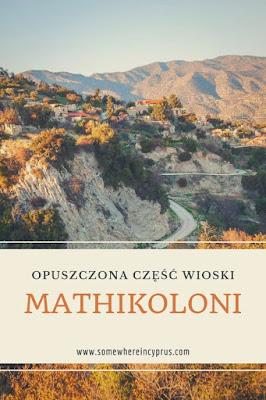Opuszczona część wioski Mathikoloni