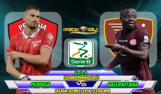 Prediksi Perugia vs Salernitana 1 Mei 2018