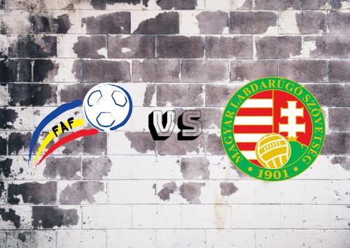 Andorra vs Hungría  Resumen