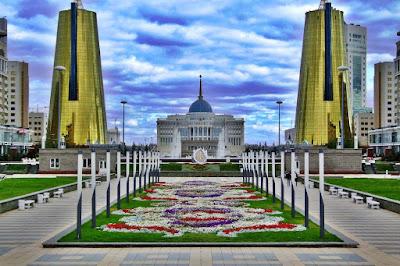 CITY ASTANA - A CAPITAL OF KAZAKHSTAN