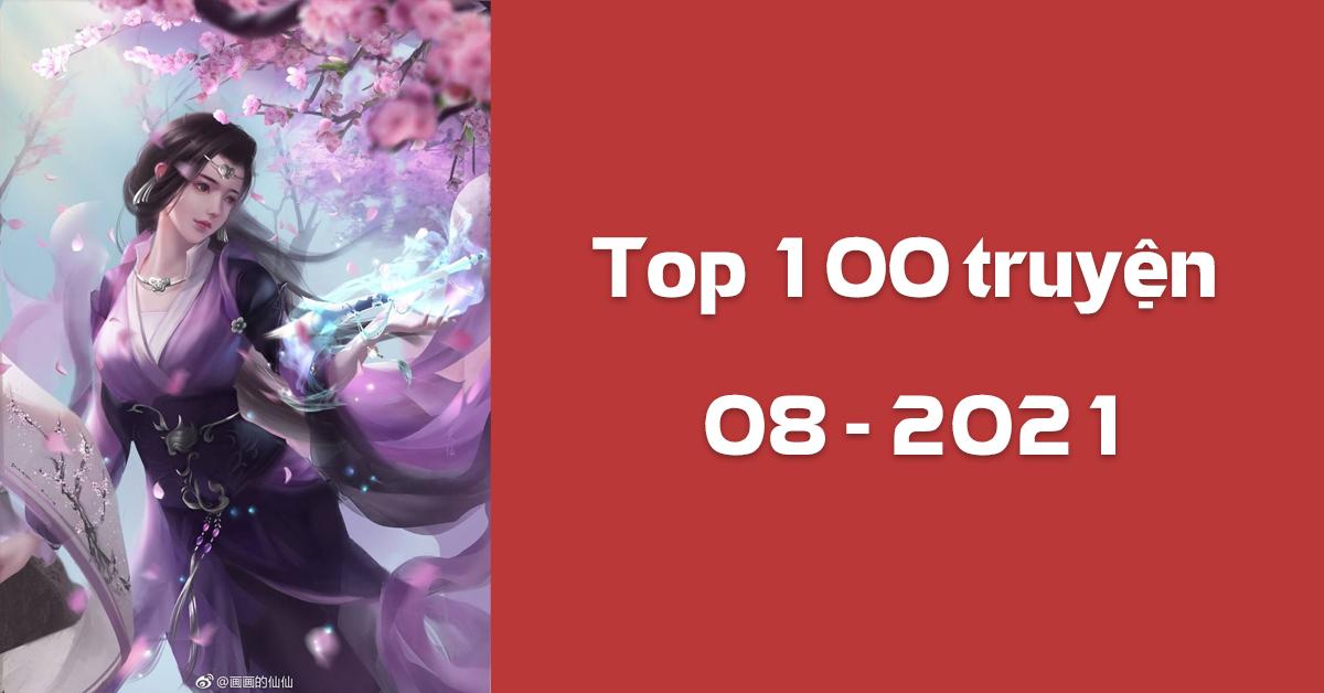 Top 100 truyện được xem nhiều tháng 08/2021 (Thống kê từ Google Analytics)