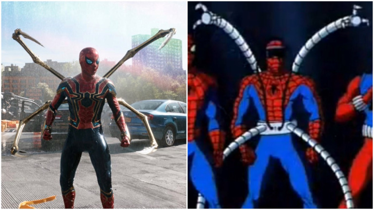 They recreate the new trailer for Spider-Man: No Way Home using scenes from the classic animated series - 3Movierulz