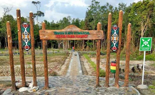 Kebun Raya Terluas di Indonesia Dibuka Tahun 2020