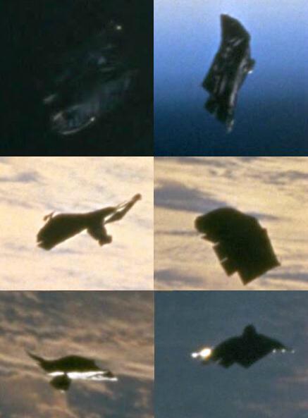 distintas imagenes de la sonda alienígena el caballero negro