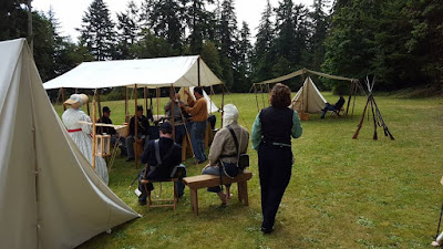 4th US Camp at Fort Townshend 2016 photo by J. Strand