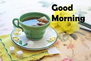 good morning tea shayari