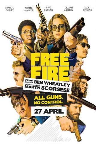 Free Fire [2016] [DVDR] [NTSC] [Subtitulado]