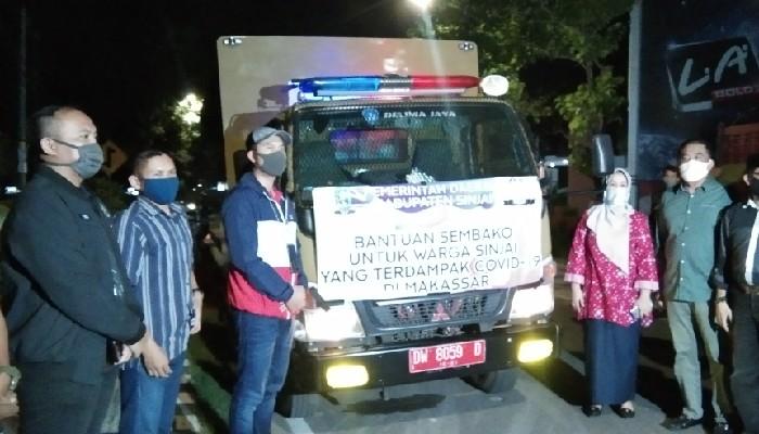 Bukan Isapan Jempol, Pemkab Sinjai Akhirnya Kirim Sembako untuk Warganya di Makassar