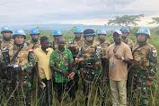 Pasukan Garuda di Afrika Kembali Peroleh Senjata Dari Masyarakat Lukungwe