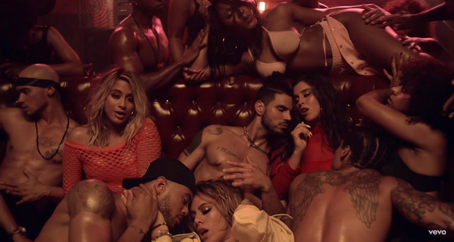 """Com muita sensualidade e muita coreo Fifth Harmony lança clipe de """" He Like That"""" , Vem ver!"""