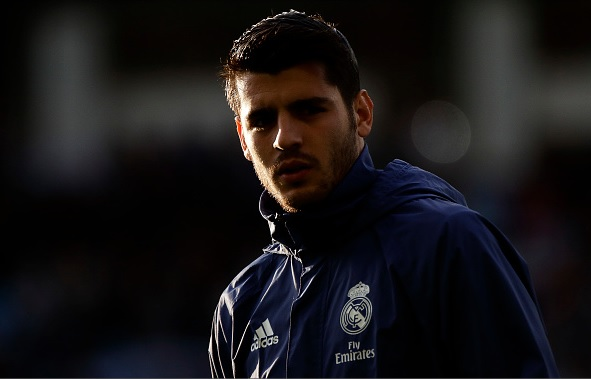 Chelsea eye Real Madrid striker Alvaro Morata