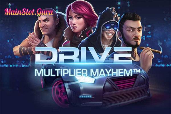 Main Gratis Slot Drive Multiplier Mayhem NetEnt