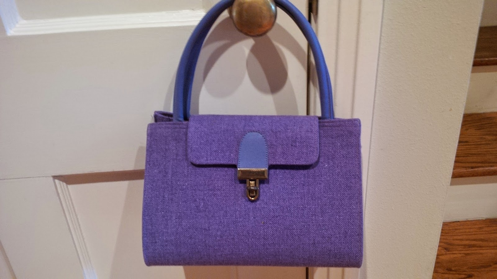 Isn T The Color Gorgeous And I Love Flap With Closure Different Matching Handles In Fact Wanted To Carry It A Wedding Reception