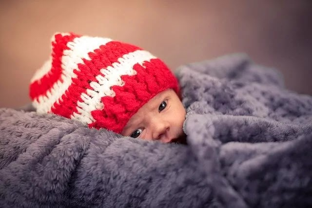 winter look baby image