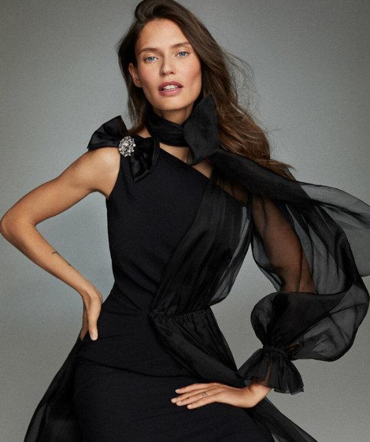 Bianca Balti by Xavi Gordo for ELLE Italia, November 2019