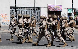 estado emergencia militares