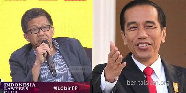 Rocky hina Jokowi