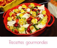 Recettes faciles de salades colorées