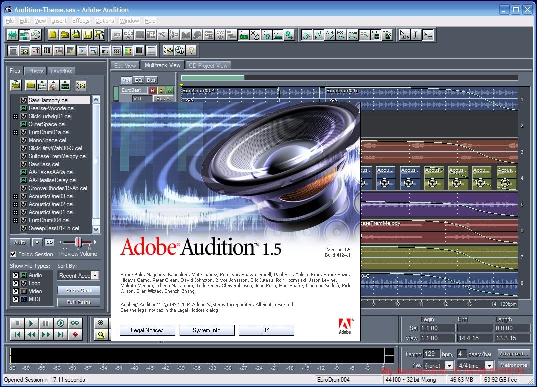 Adobe Audition 1 5 - CNET Download