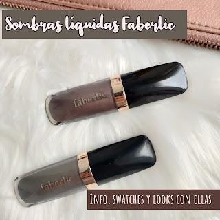 Sombras líquidas FABERLIC: Info, swatches y looks con ellas