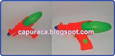 cara membasmi cicak dengan pistol air capuraca.blogspot.com